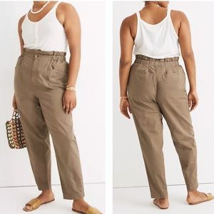 NWT Madewell Pull-On Paperbag Pant